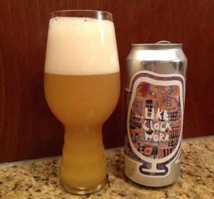 … Like Clockwork de Foam Brewers