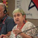 Maite Mola, dirigente del PCE y del PIE