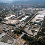 Vista aérea de la planta de SEAT Martorell.
