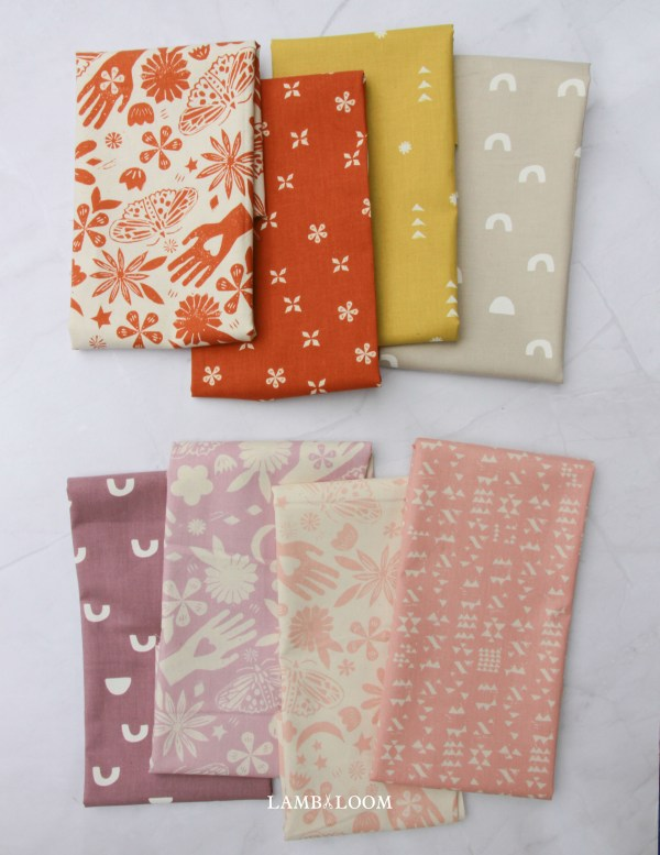 Moonrise by Alexia Abegg for cotton and steel fabrics is a modern fabric line