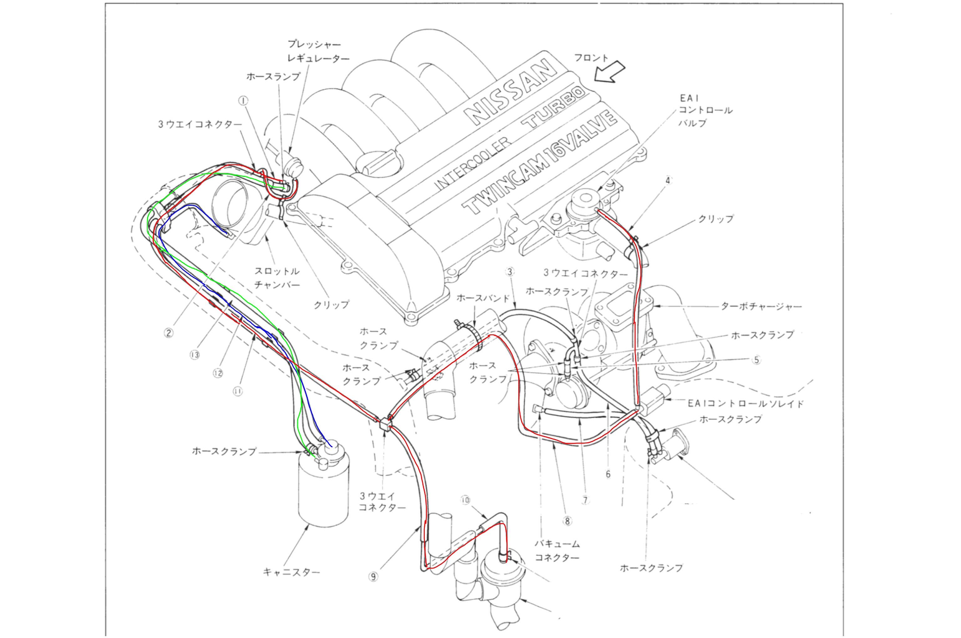 hight resolution of sr20det vacuum diagram wiring diagram gosr20det egr removal lambchops car guides sr20det vacuum hose diagram sr20det