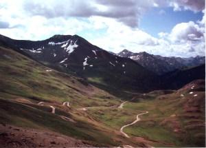 Review Alpine Loop - Near Animas Forks Colorado, August 1997