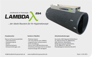 Infoblatt Lambda254