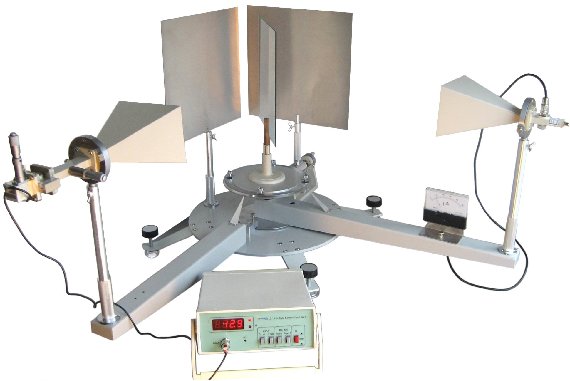 Physics Experiment Leei 62 Interference Diffraction Amp Polarization Of Microwave Advanced Model