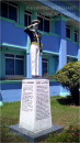 PMMA's Code of Leadership and Ethics were written on the base of this statue.