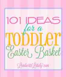 This huge list of Easter basket ideas for toddlers includes unique small gifts for both boys and girls. Find inspiration for cute clothing, simple Easter-themed toys, and even practical items that can be used in the spring or summer!