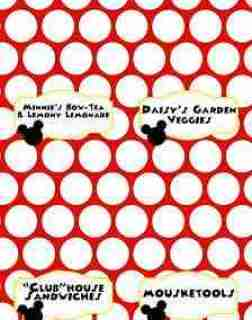 Mickey Mouse Clubhouse Party Free Printables (Food Labels)