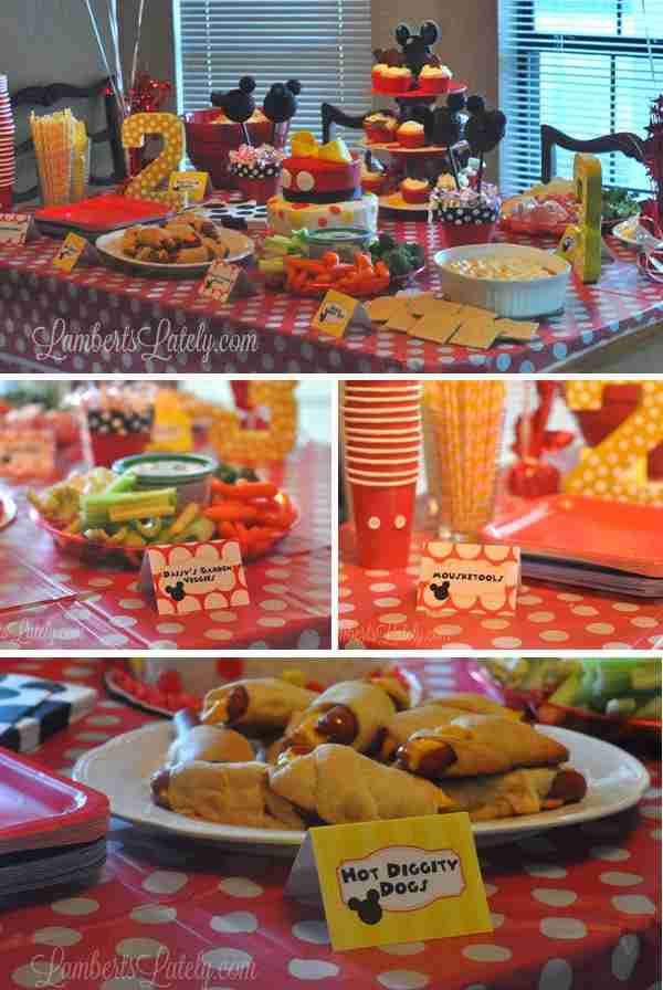 graphic relating to Hot Diggity Dog Bar Free Printable identified as Emma Rameys Mickey Mouse Clubhouse Birthday - The Data