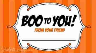 Five Free Halloween Treat Printables