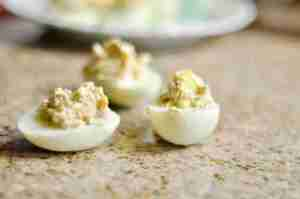 Bunco Deviled Eggs
