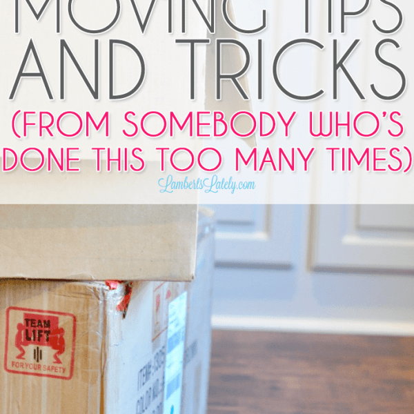 14 Favorite Moving Tips and Tricks