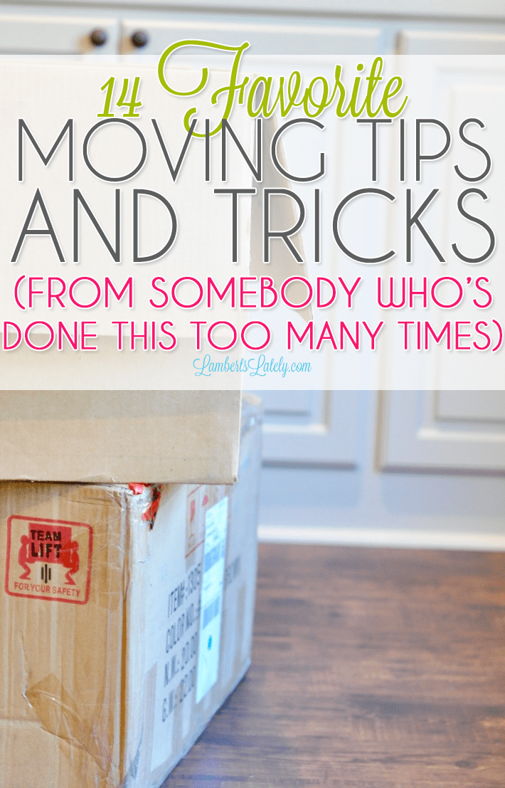 Learn about the most effective moving hacks from somebody with way too much experience...includes packing ideas, frugal storage, and packing process!