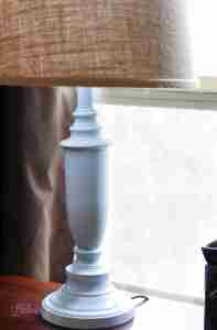 Drab to Fab: A DIY Glass-Finish Lamp Base Makeover