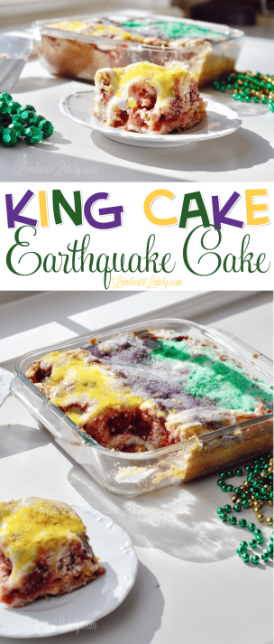 Easy King Cake Recipe Cream Cheese Filling