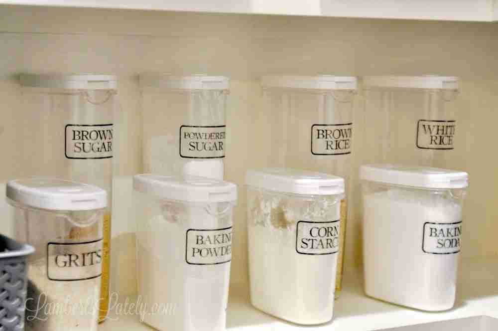 photo about Printable Clear Labels identified as The Uncomplicated Direction towards Generate Distinct Pantry Labels (with absolutely free
