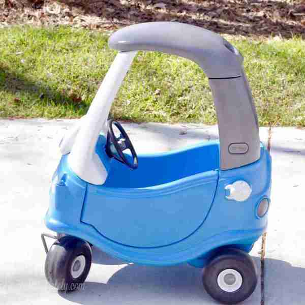 Little Tikes Cozy Coupe Car Makeover