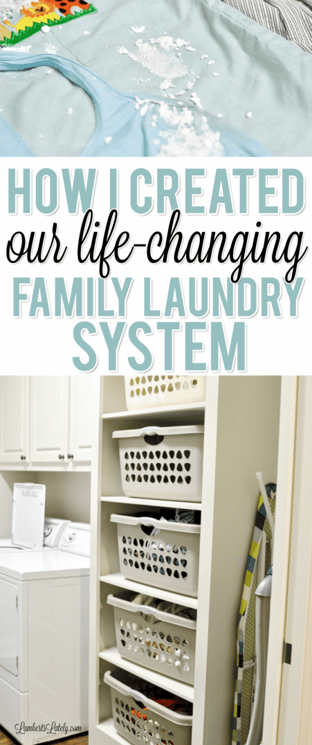 Ready to establish an effective, life-changing laundry system in your home? Get tips and tricks for streamlining the process, with ideas for either small or big families! There are also simple supply and washing machine/dryer recommendations.