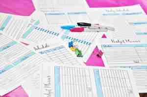 Organize In Style: Vacation Planning Printables