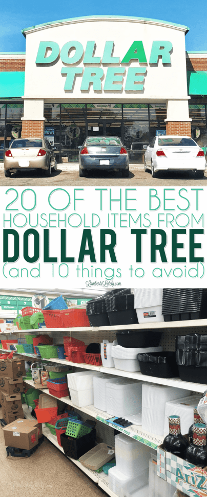 What to know what to buy (and what not to buy) at Dollar Tree? Get tips on household, craft, and organization items that are great finds at the dollar store!
