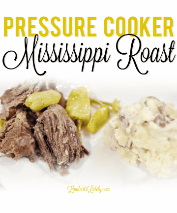 You will love this recipe for Pressure Cooker Mississippi Pot Roast - includes instructions for how to make into a freezer meal and prep in an Instant Pot!