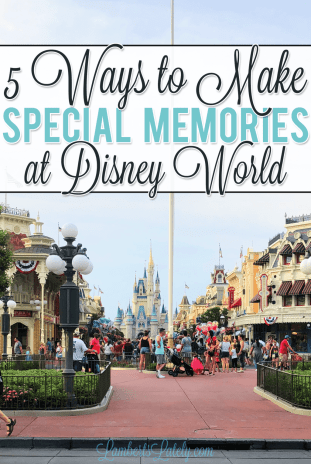 Ready to make special memories with your family on your next visit to Walt Disney World?  This post includes ways to have fun and create special moments throughout Magic Kingdom and other parks!