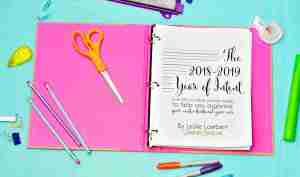 A Tour of My 2018-2019 Year of Intent Planner