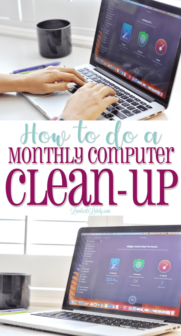 This post highlights a few easy steps to how to organize, clean out junk files, and physically clean the screen and keyboard of your computer. This is a must-read for Mac owners...I do this clean up monthly! Also has ideas for simple products and software you can use to optimize your system.