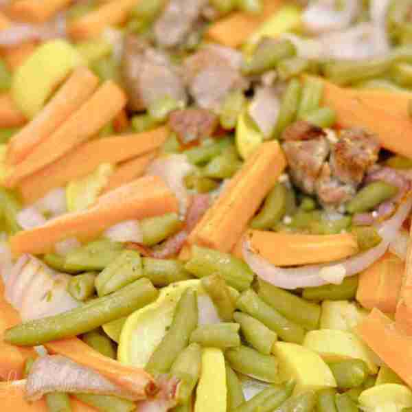 Sheet Pan Rainbow Beef (Part 3 – Sheet Pan Dinners Freezer Meal Boot Camp)