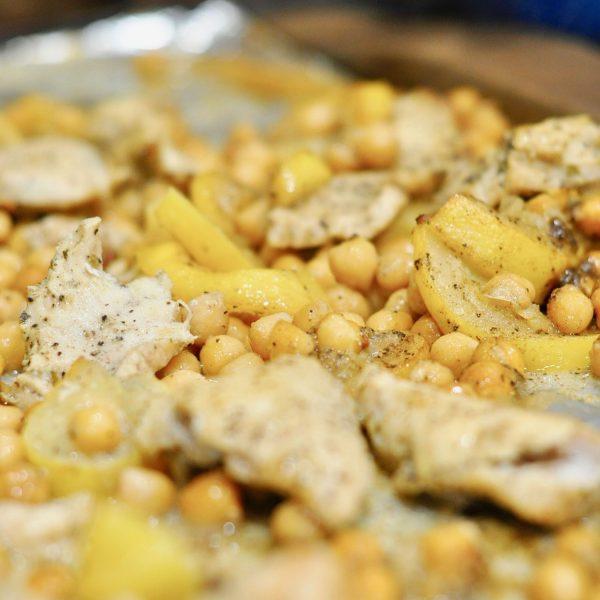 Sheet Pan Greek Chicken (Part 9 – Sheet Pan Dinners Freezer Meal Boot Camp)