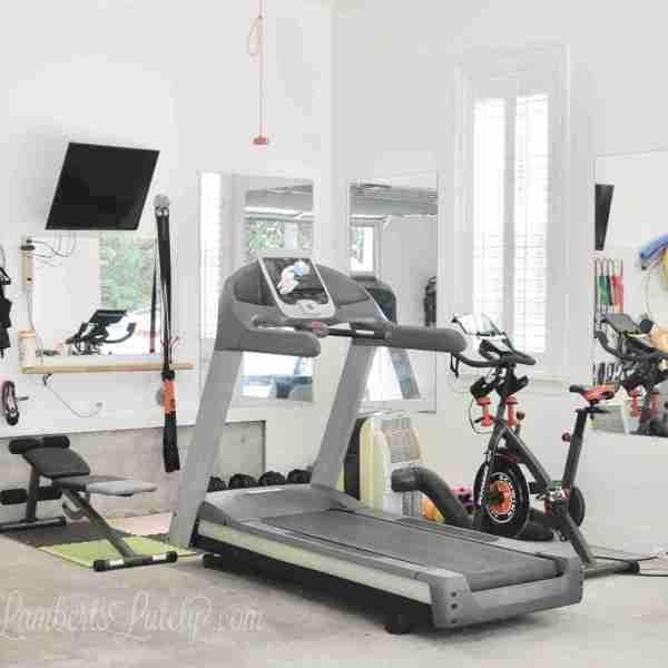 Our Garage Home Gym