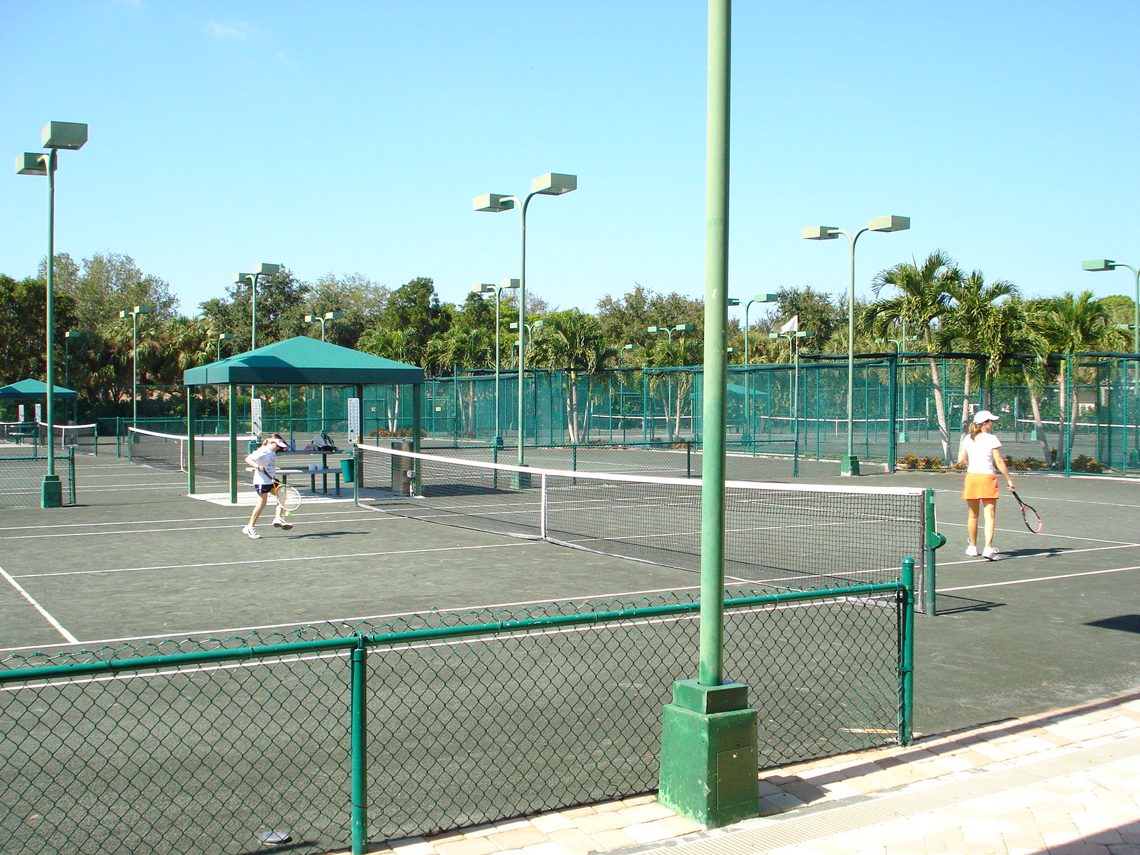 Tennis Court in Pelican Bay
