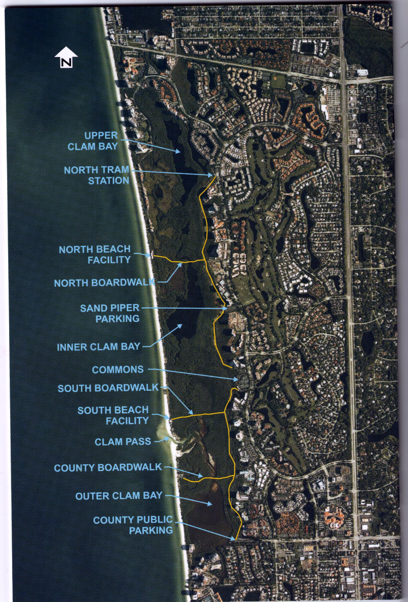 Satellite Photo of Pelican Bay Developement