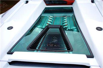 White Lamborghini Roadster for sale