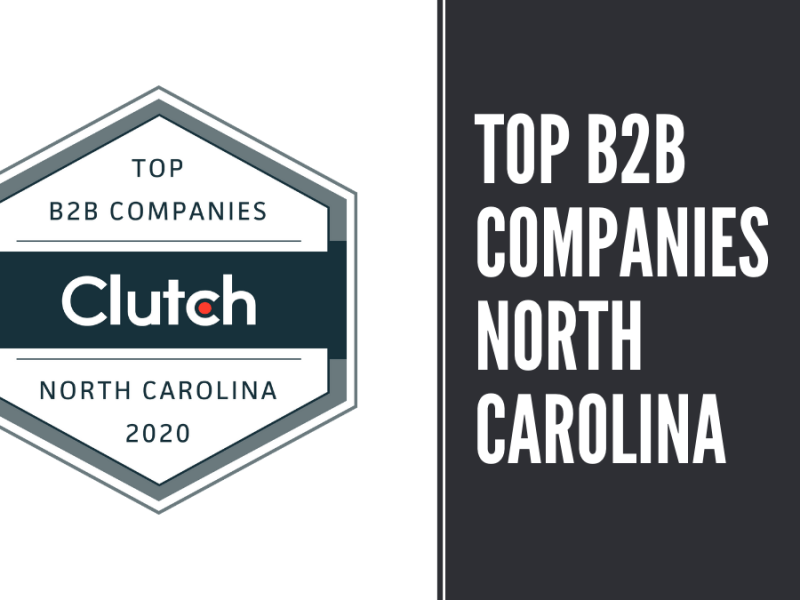top b2b companies north carolina