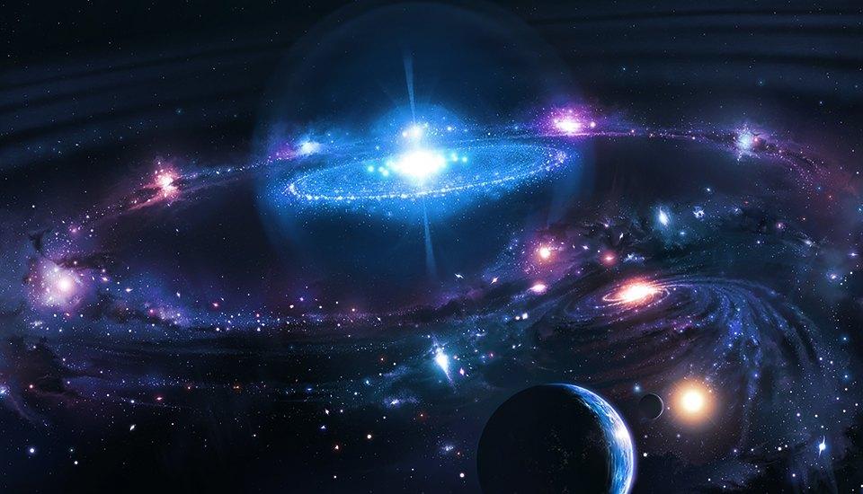 3d Galaxy Space Live Wallpaper 5 научных теорий строения Вселенной которые кажутся
