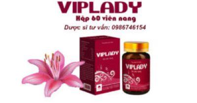 VIPLADY : viên nang bổ sung nội tiết tố từ mầm đậu nành, collagen và dược liệu quí
