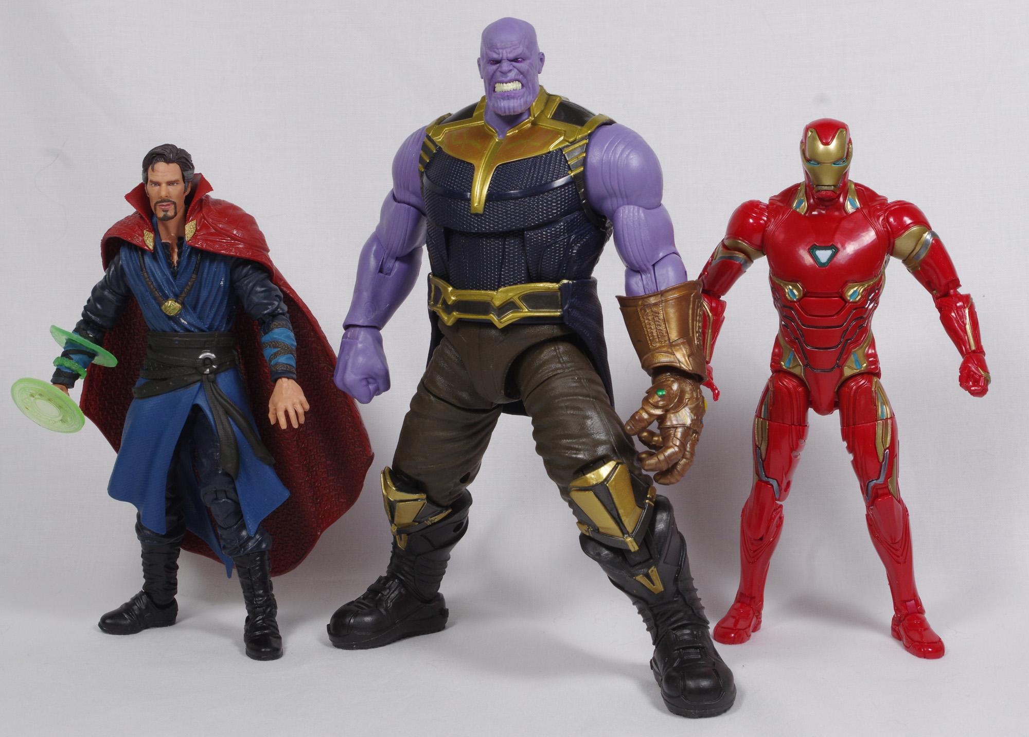 Doctor Strange 10th anniversary Marvel Legends Studio Infinity War loose figure