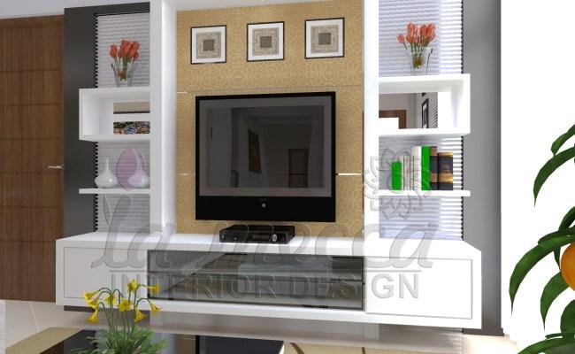 Furniture Backdrop Ruang Keluarga La Mecca Interior Design