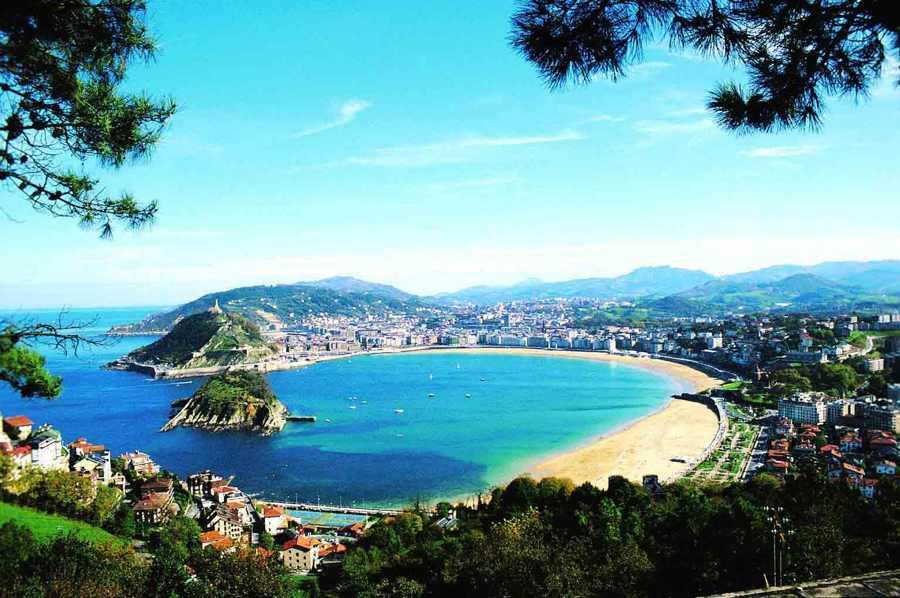 Image result for san sebastian playa de la concha