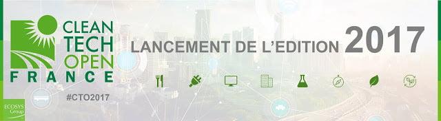 Concours Cleantech Open France 2017