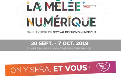 La Mêlée Numérique – 30 septembre au 7 octobre 2019 à Toulouse