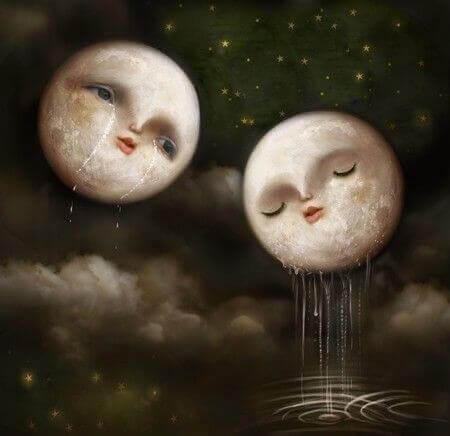 lune che piangono