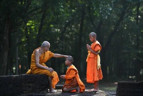 alunni buddisti e la freccia avvelenata