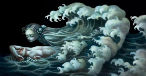 De las olas aprendí a irme y regresar con más fuerza