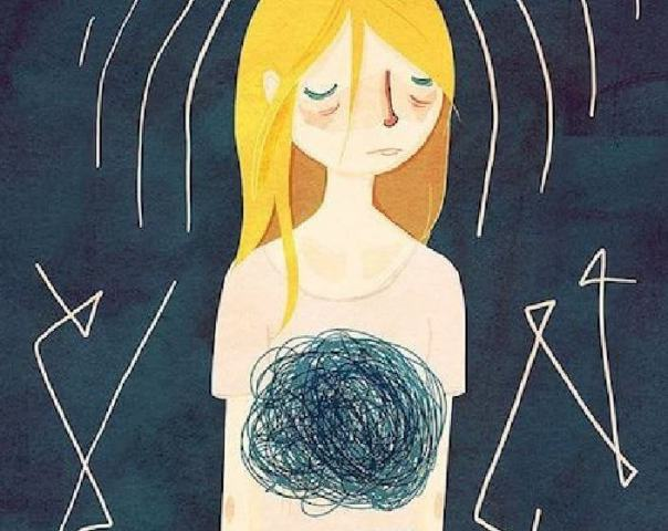 Mujer con ansiedad