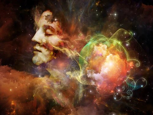 La mente umana rappresenta le parole di Albert Einstein