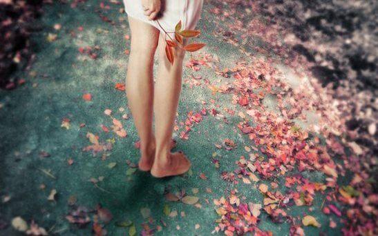 pies flores