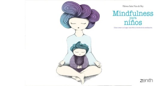 Couverture de livre Mindfulness for children