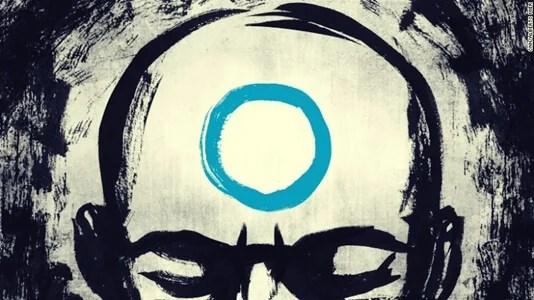 hombre con círculo en la mente simbolizando las lecciones zen sobre el miedo