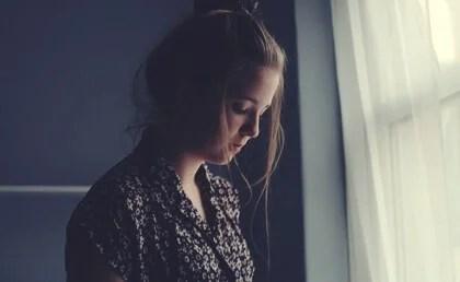 Chica triste